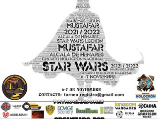 TORNEO REGIONAL STAR WARS LEGION (6/7-Nov-2021)
