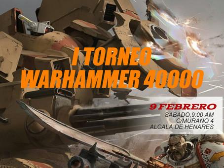 I TORNEO WARHAMMER 40.000 (9 feb 2019)