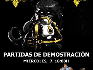 DEMOS ARISTEIA! (7-ago-2019)