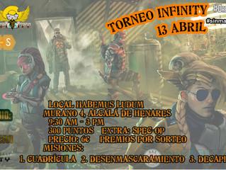 TORNEO INFINITY #SINMAZOCLASIFICADO 13 Abril