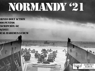 TORNEO BOLT ACTION NORMANDY '21 (5-JUN-2021)