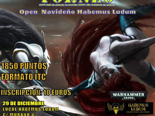 OPEN NAVIDEÑO W40K (29 DIC 2019)