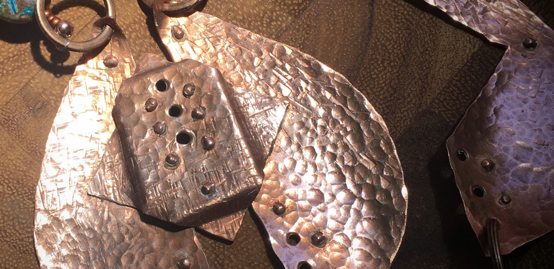Hammered Copper and Apaptite