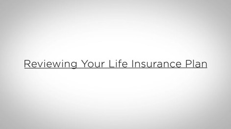 Reviewing Your Life Insurance