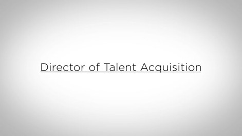 Director of Talent Acquisition