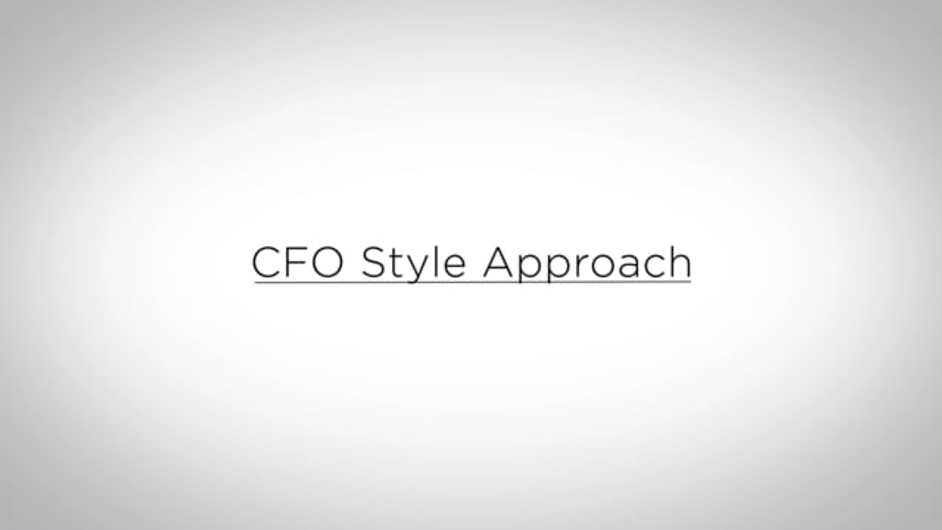 CFO Style Approach