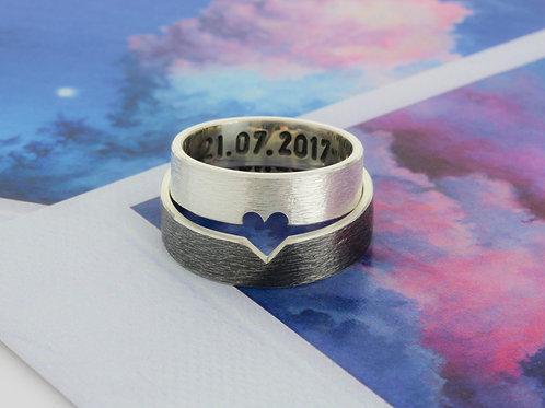 Парные кольца LOVE U