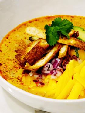 low carb creamy chicken tortilla soup