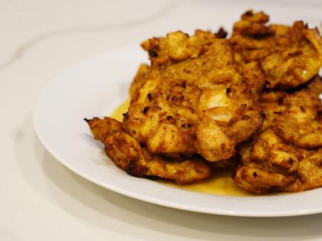 cumin crusted lemony chicken