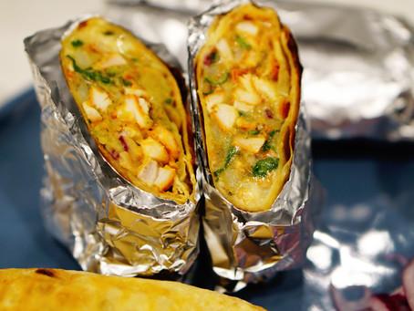 grilled chicken burritos