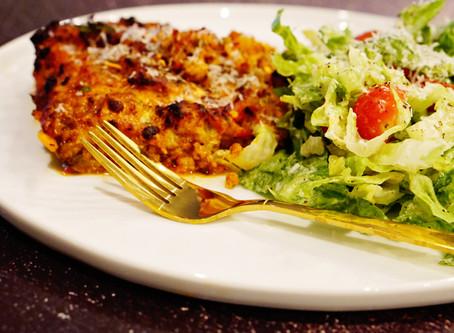 eggplant as lasagna?  yes.