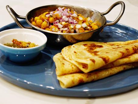 EASY chana masala (chickpea curry)