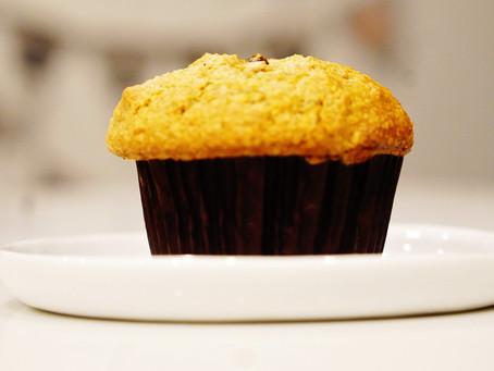 carrot cake bran muffins
