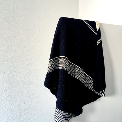 quika baby blanket - black