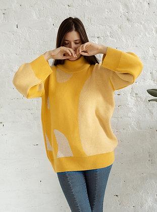 MINERAL jumper mustard