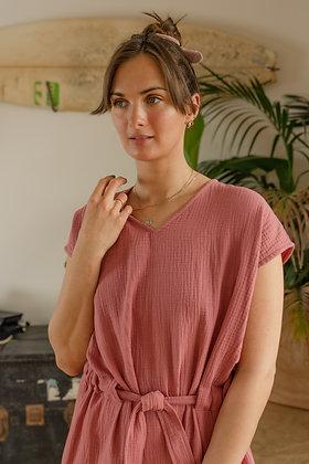 HANA dress raspberry