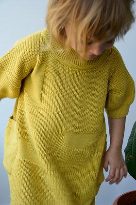 NOA dress mustard