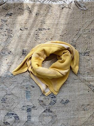 EIRA scarf/ baby blanket mustard