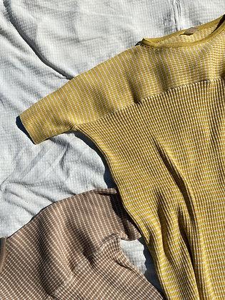 AYAKO dress mustard