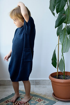 NOA dress blue