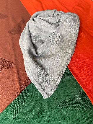EIRA scarf/baby blanket ash