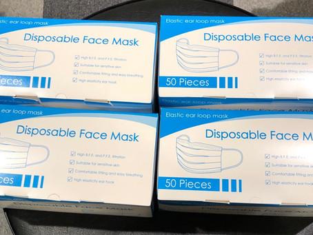 ELS21 マスクが届いた