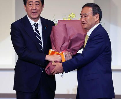 Who became new Prime Minister in Japan?