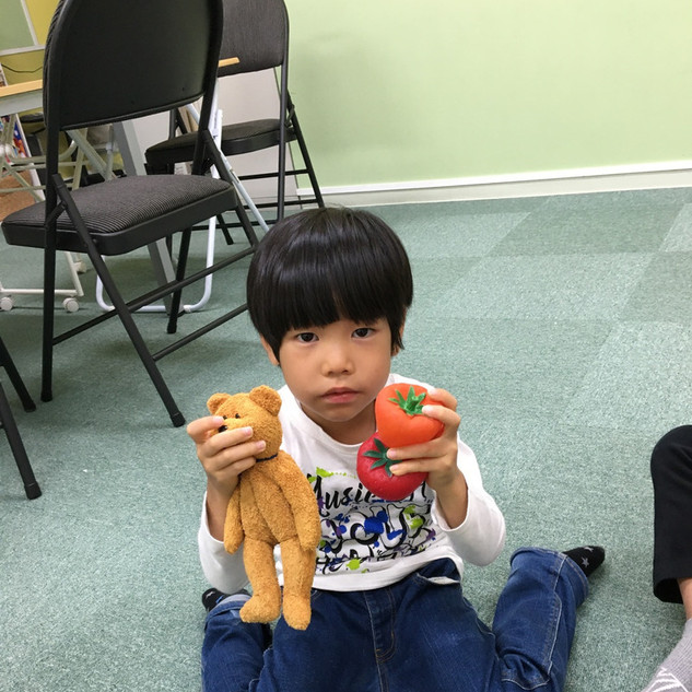 ELS21幼児クラスショッピング