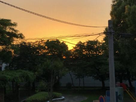 ELS21 夕焼け