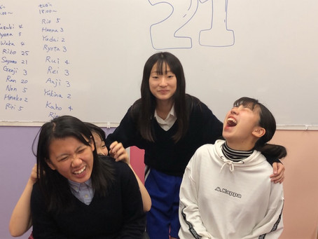 ELS21こんなに笑う高3生っている?