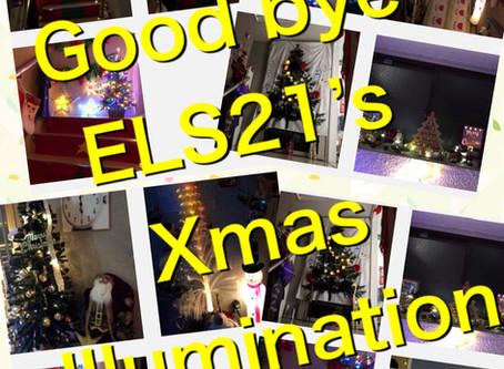 ELS21 Good bye 👋 Christmas 🎄