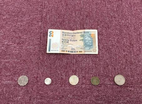 ELS21 世界のお金を見比べ中