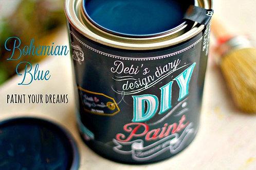 Debi's Design Diary DIY Paint -Bohemian Blue