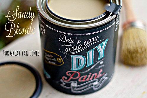 Debi's Design Diary DIY Paint - Sandy Blonde