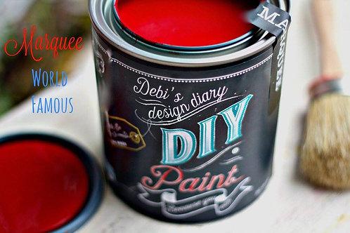Debi's Design Diary DIY Paint -Marquee