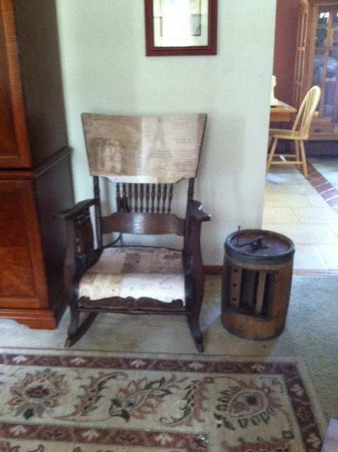 After Antique Chair
