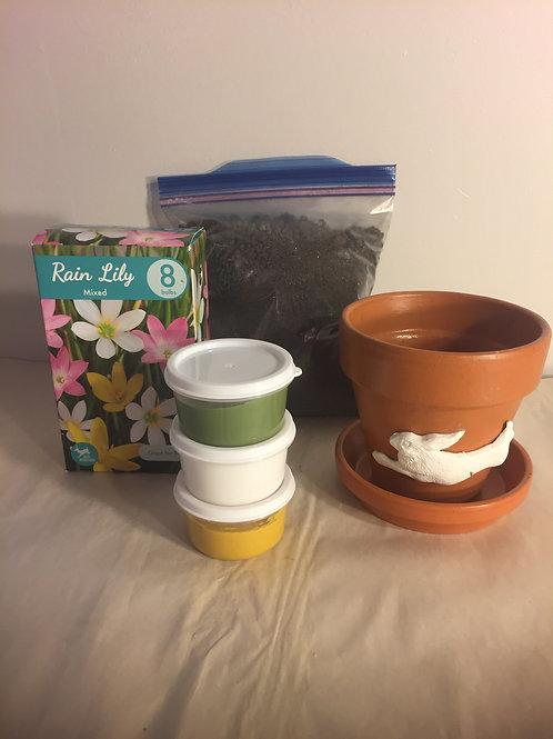 Flower Pot Kit - Bunny