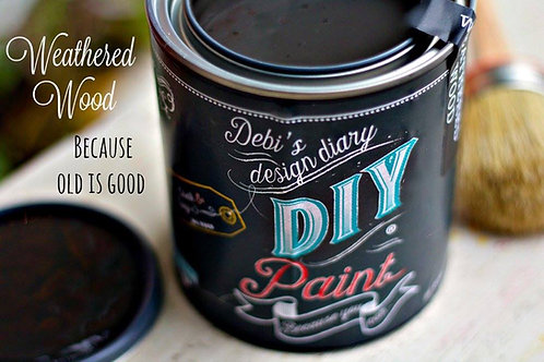 Debi's Design Diary DIY Paint - Weathered Wood