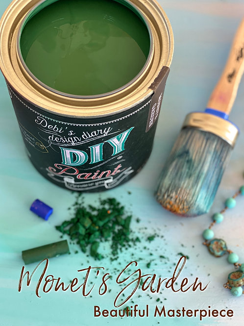 Debi's Design Diary DIY Paint - Monet's Garden