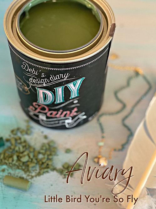 Debi's Design Diary DIY Paint - Aviary