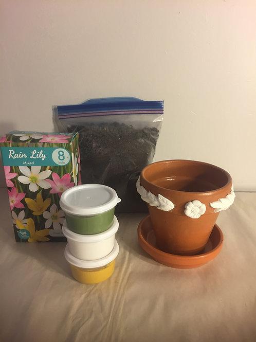 Flower Pot Kit - Blossom & Vine