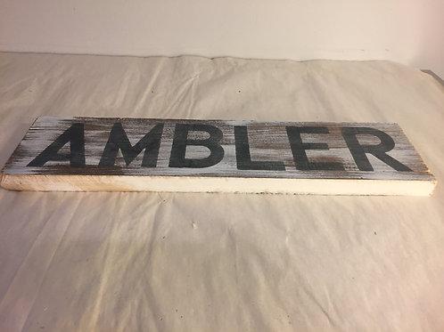 Reclaimed Wood Ambler