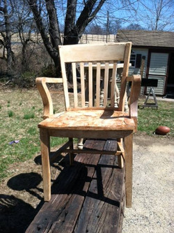 Before Wooden Chair