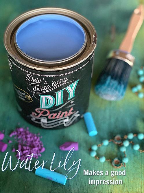 Debi's Design Diary DIY Paint - Water Lily
