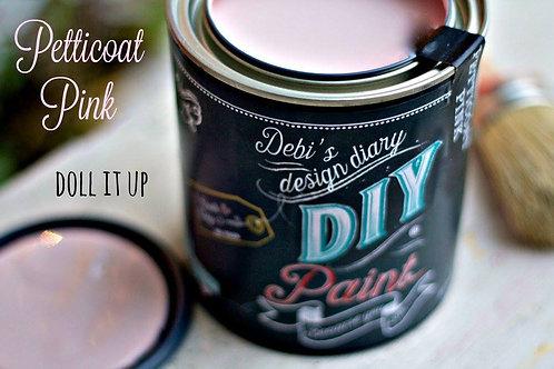 Debi's Design Diary DIY Paint - Petticoat Pink