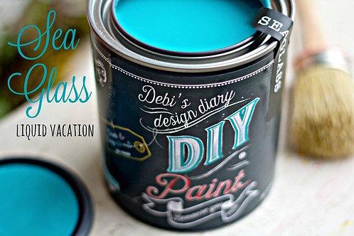 Debi's Design Diary DIY Paint -Sea Glass