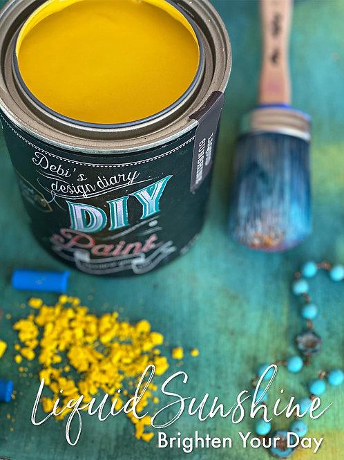 Debi's Design Diary DIY Paint - Liquid Sunshine