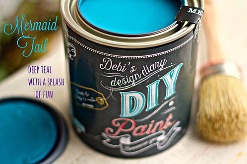 Debi's Design Diary DIY Paint - Mermaid Tail