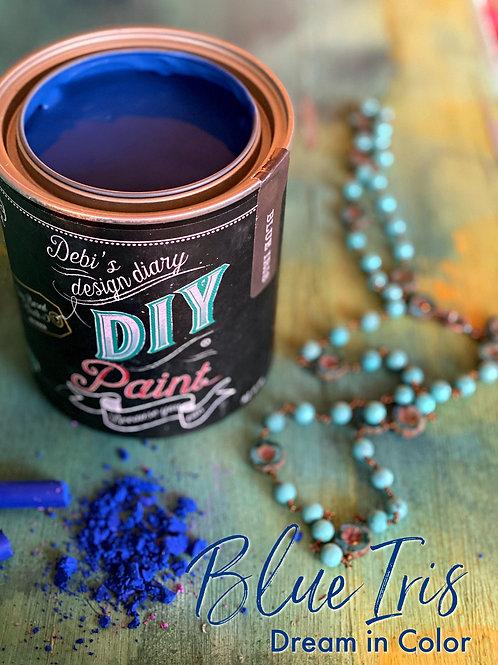 Debi's Design Diary DIY Paint - Blue Iris