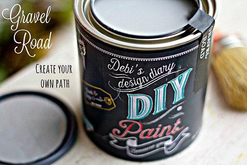 Debi's Design Diary DIY Paint -Gravel Road